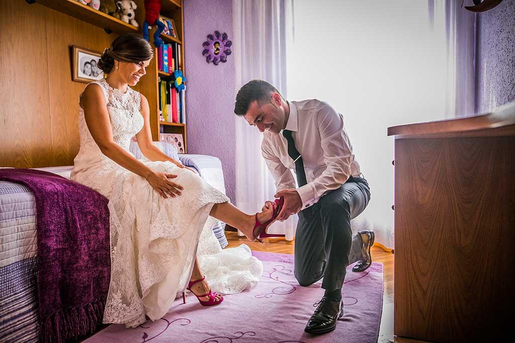 fotografo de bodas Santander Mario Carla preparativos novia