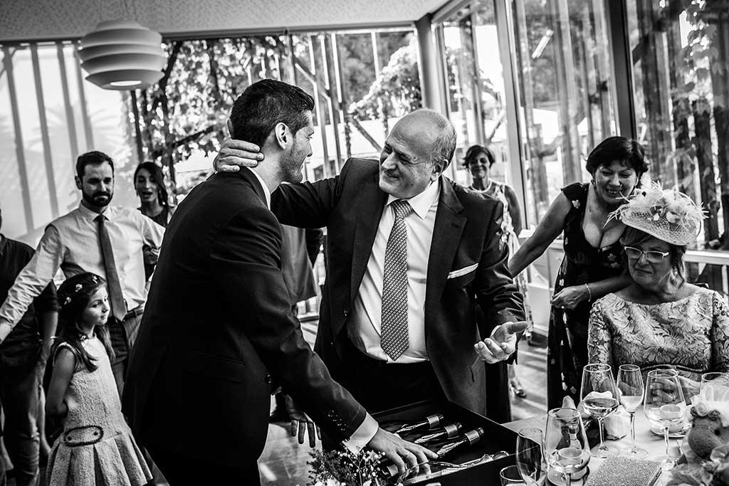 fotografo de bodas Santander Mario Carla papa