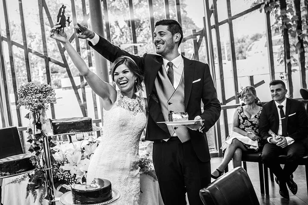 fotografo de bodas Santander Mario Carla tarta