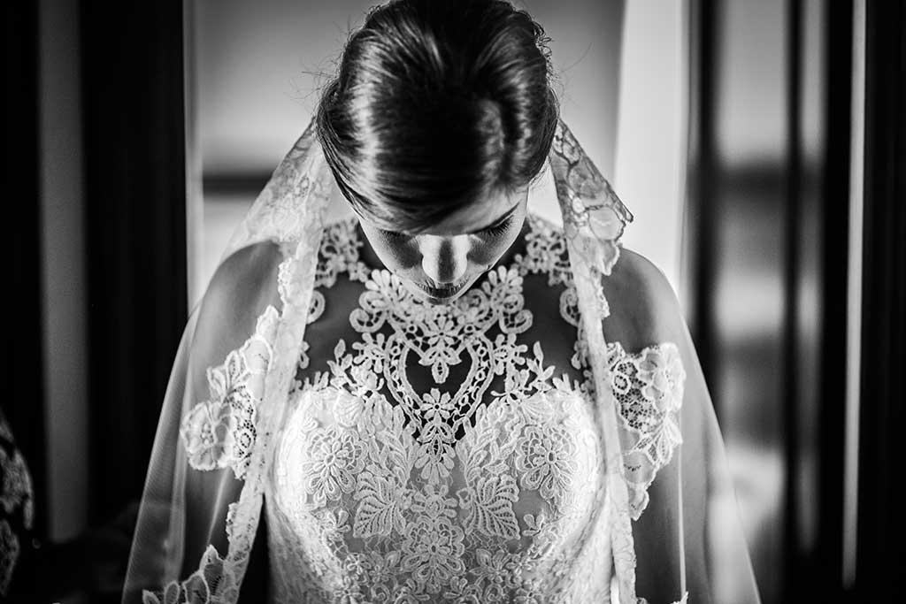 fotografo de bodas Santander Mario Carla velo novia