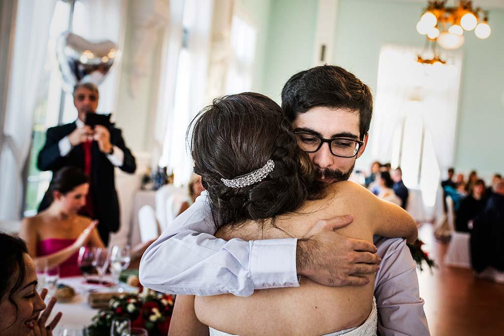 fotografo de bodas en Cantabria Maria y Borja hermano novia