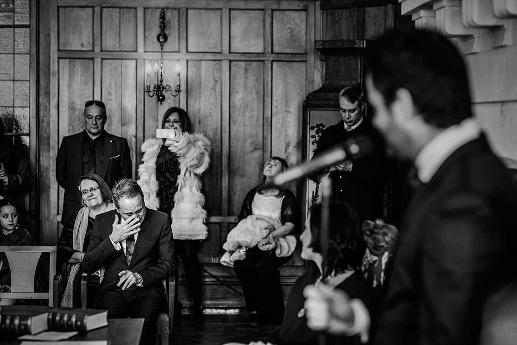 fotografo de bodas en Cantabria Maria y Borja lagrimas