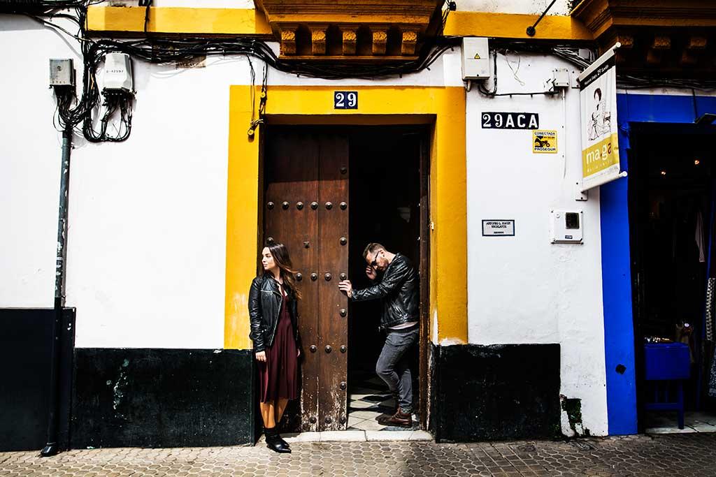 Fotógrafo de bodas Sevilla Marcos Greiz ellos
