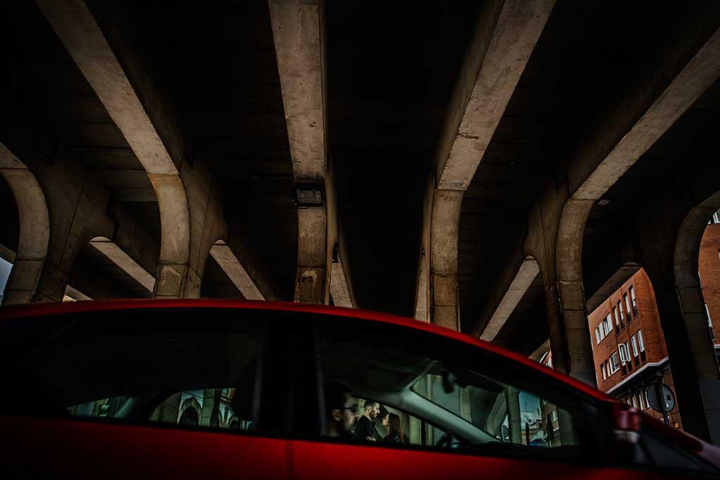 Fotógrafo de bodas Sevilla Marcos Greiz coche