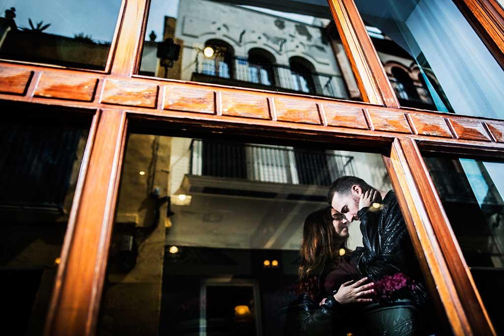 Fotógrafo de bodas Sevilla Marcos Greiz reflejos