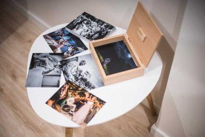 fotógrafo de bodas Marcos Greiz caja fotos