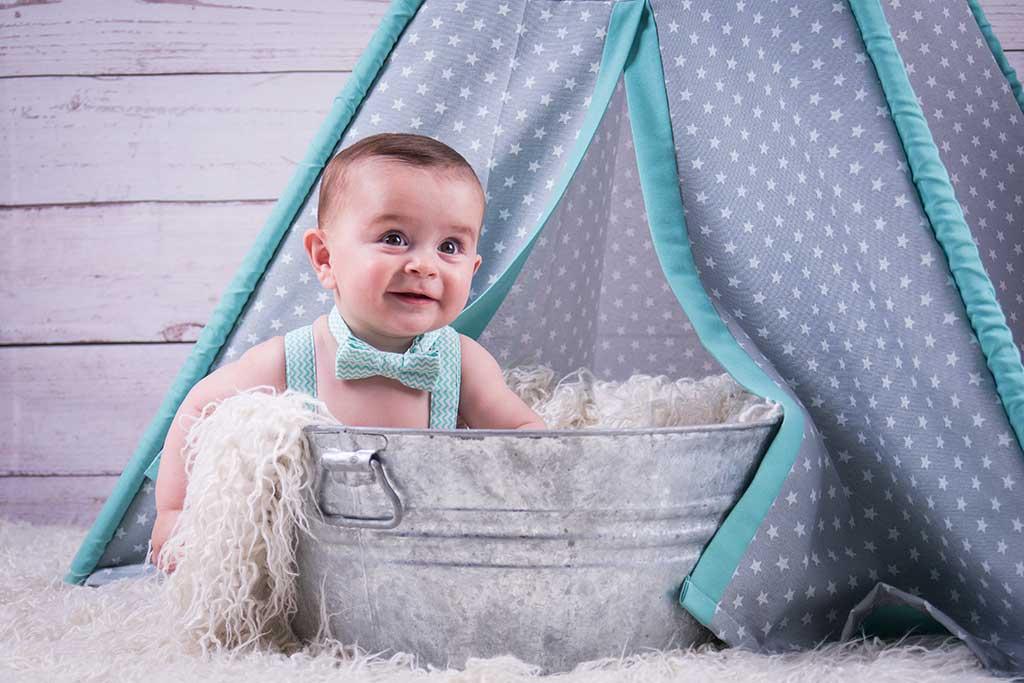 fotos de bebes marcos greiz Dario cubo y pajarita