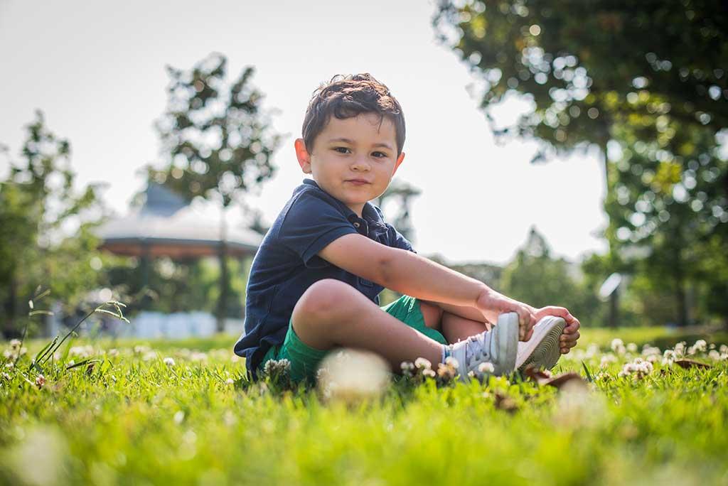 fotos de niños Cantabria Marcos Greiz Mateo jardin