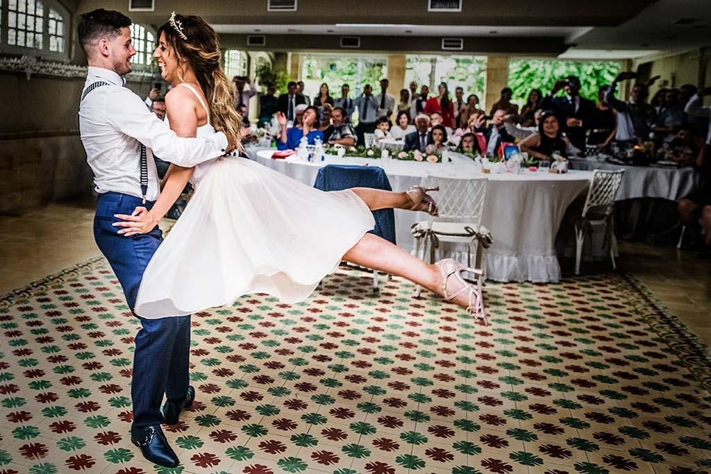 Fotógrafo de bodas Cantabria Marcos Greiz Ane y Felix baile nupcial
