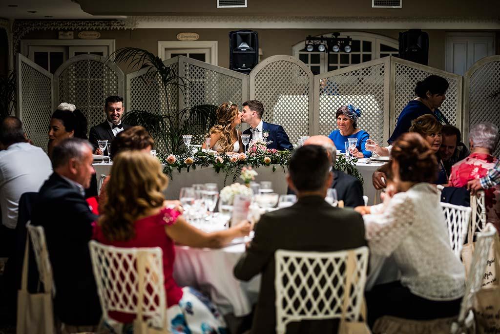 Fotógrafo de bodas Cantabria Marcos Greiz Ane y Felix beso