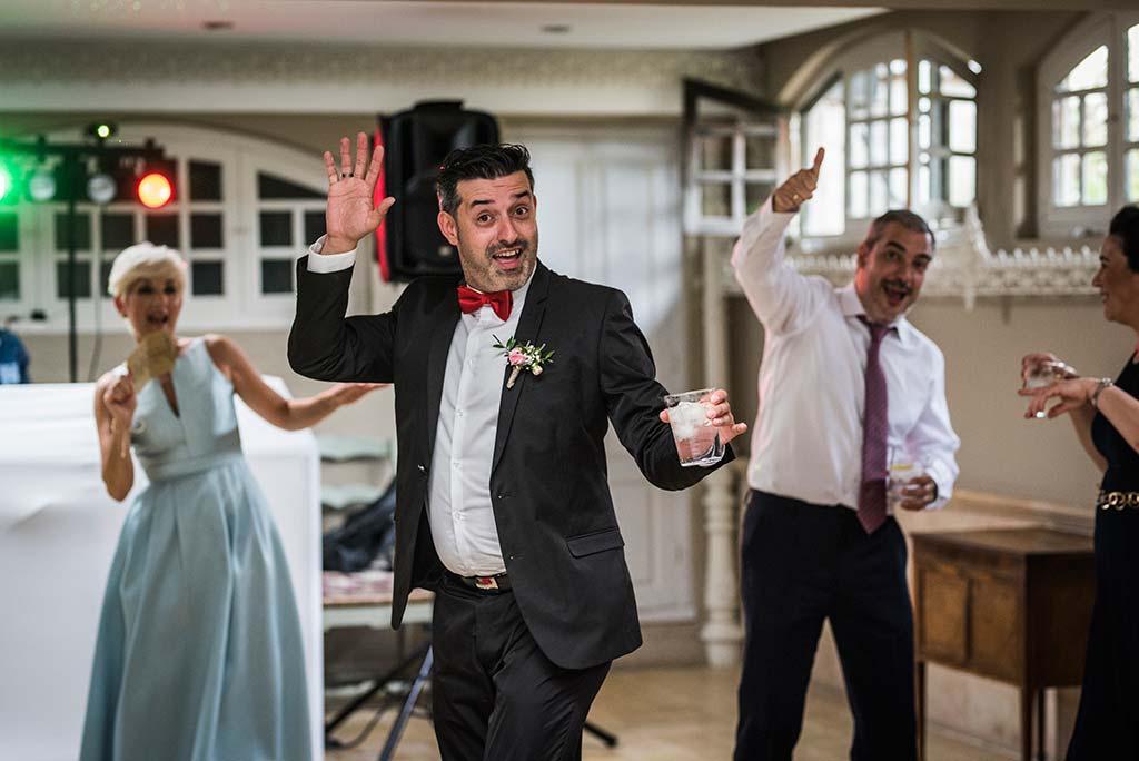 Fotógrafo de bodas Cantabria Marcos Greiz Ane y Felix padrino