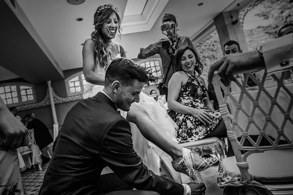 Fotógrafo de bodas Cantabria Marcos Greiz Ane y Felix liga amiga