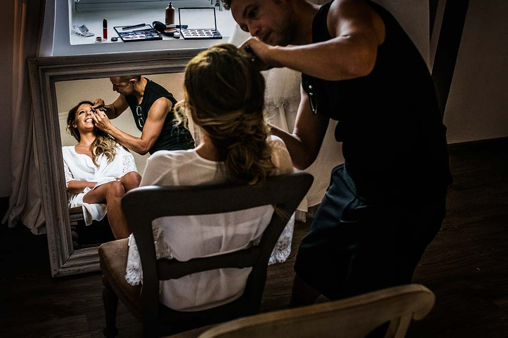 Fotógrafo de bodas Cantabria Marcos Greiz Ane y Felix novia makeup