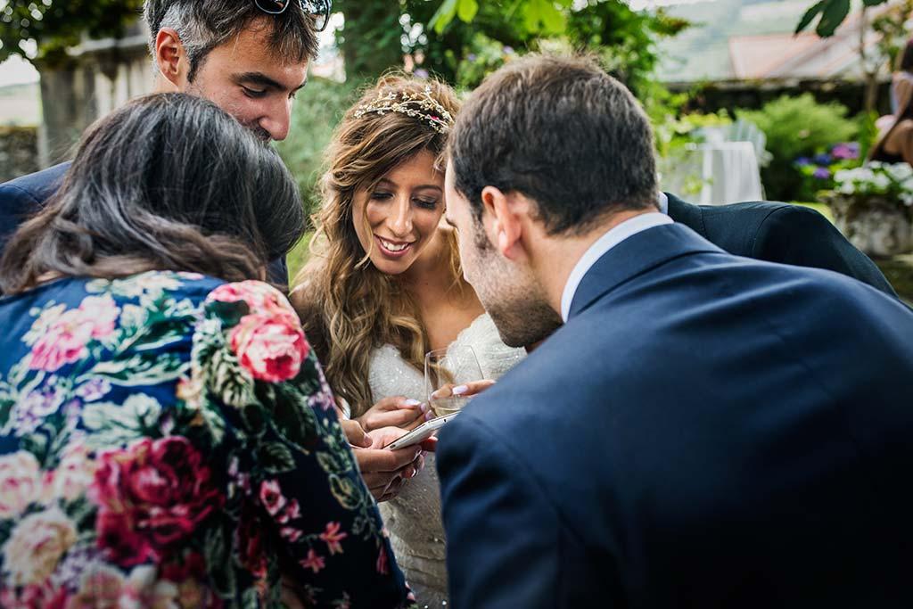 Fotógrafo de bodas Cantabria Marcos Greiz Ane y Felix noiva coctel