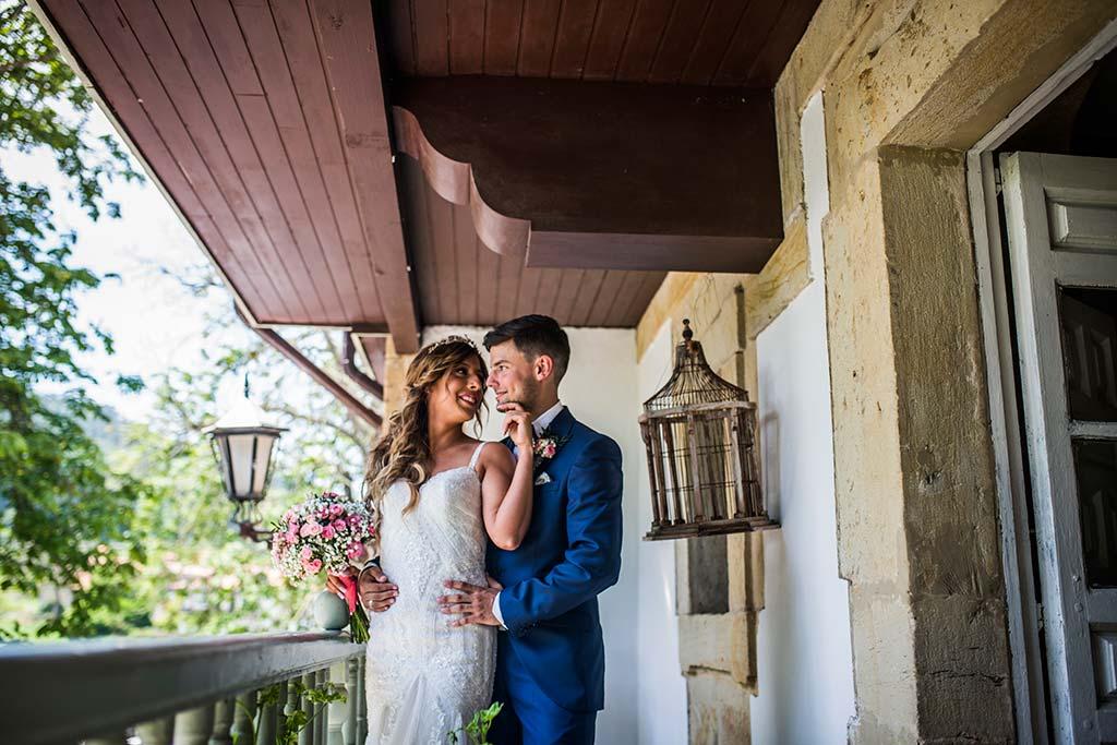 Fotógrafo de bodas Cantabria Marcos Greiz Ane y Felix novios