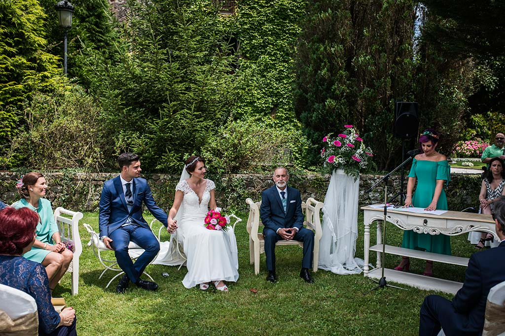 Fotógrafo de bodas Cantabria Marcos Greiz Rebeca y Pablo ceremonia