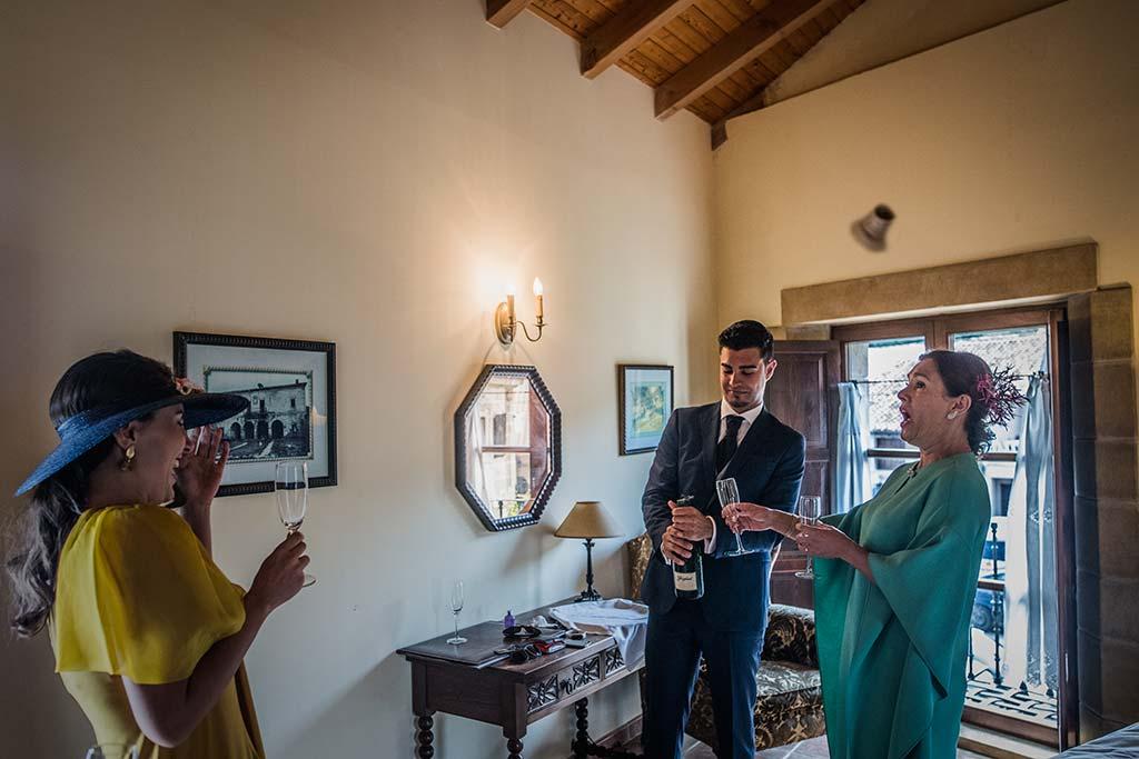 Fotógrafo de bodas Cantabria Marcos Greiz Rebeca y Pablo corcho