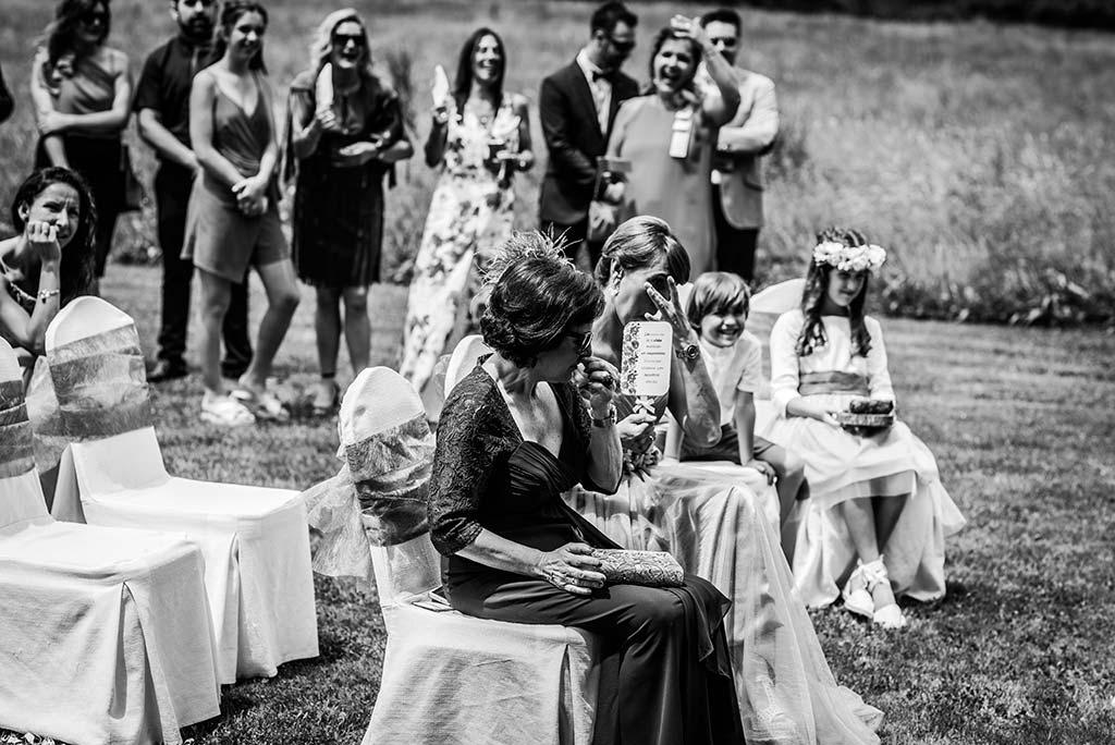 Fotógrafo de bodas Cantabria Marcos Greiz Rebeca y Pablo emoción mamá