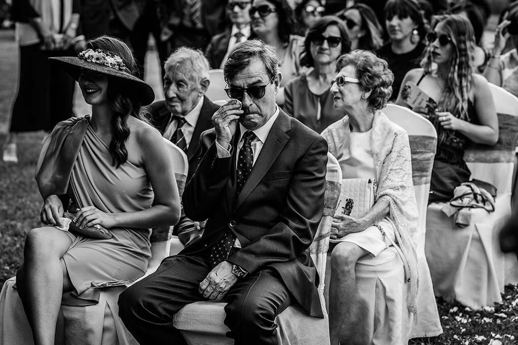 Fotógrafo de bodas Cantabria Marcos Greiz Rebeca y Pablo emociones papa