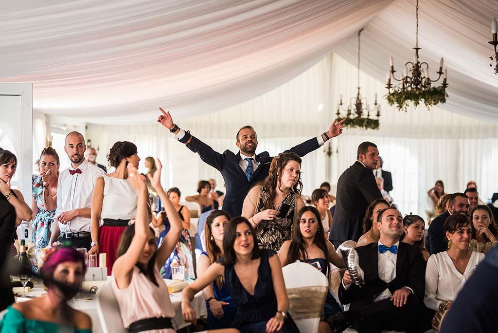Fotógrafo de bodas Cantabria Marcos Greiz Rebeca y Pablo invitado
