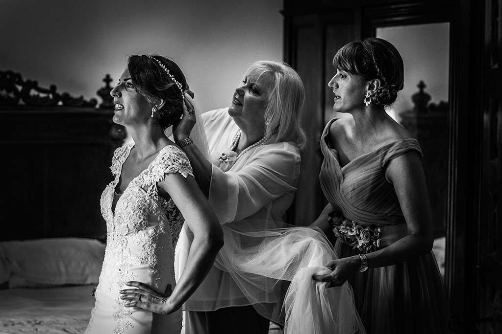 Fotógrafo de bodas Cantabria Marcos Greiz Rebeca y Pablo velo