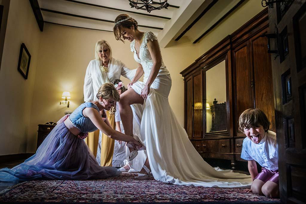 Fotógrafo de bodas Cantabria Marcos Greiz Rebeca y Pablo vestido