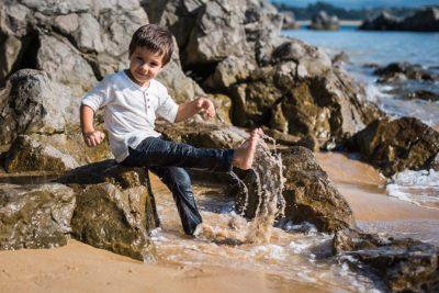 fotos de niños Santander Marcos Greiz Alex playita