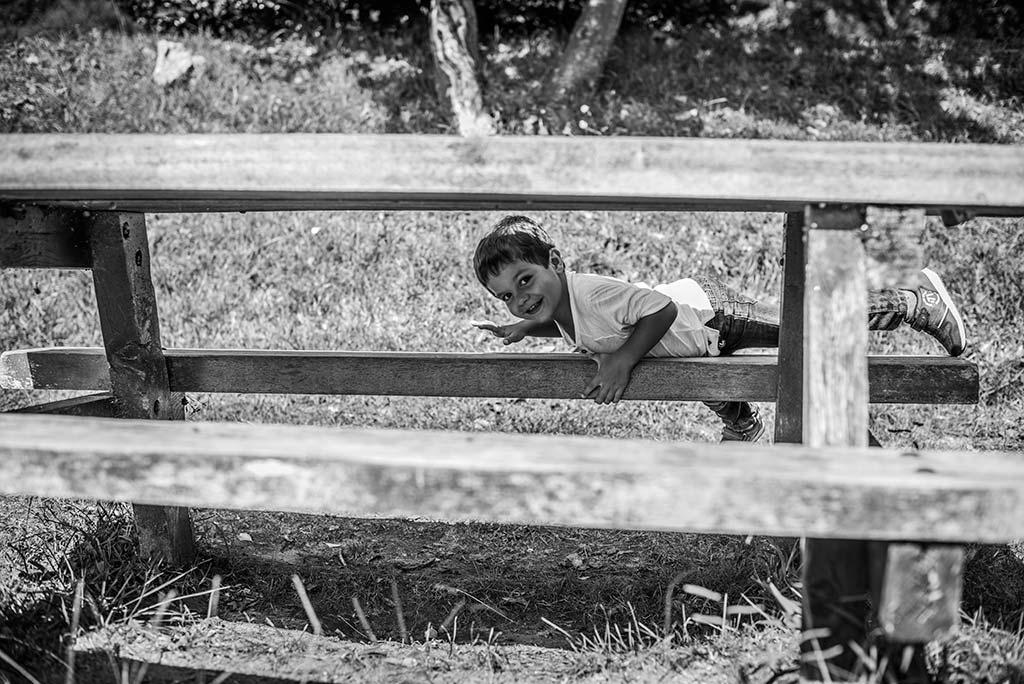 fotos de niños Santander Marcos Greiz Alex banco
