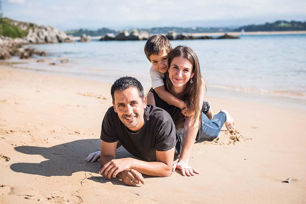 fotos de niños Santander Marcos Greiz Alex familia