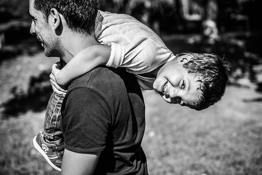 fotos de niños Santander Marcos Greiz Alex papa