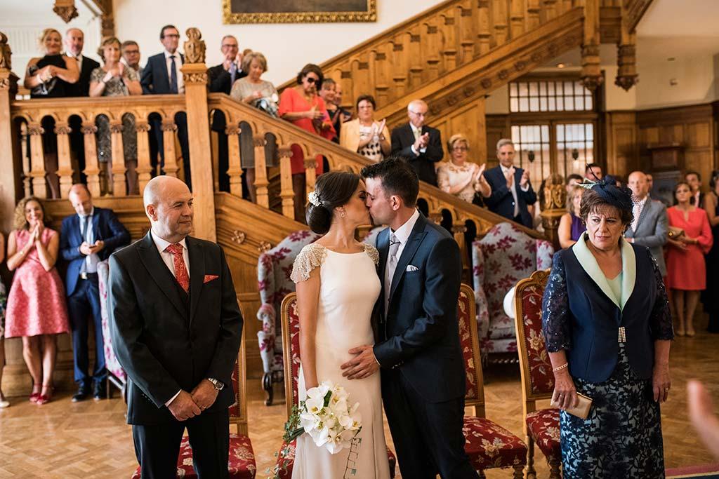 fotografo de bodas Santander Marcos-Greiz Cecilia y Saúl beso