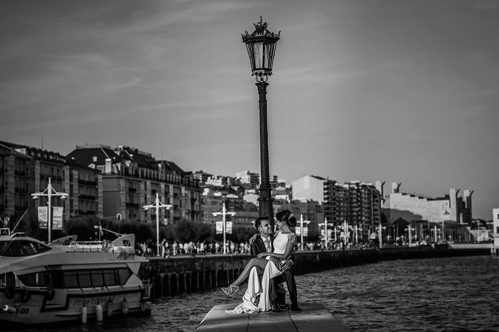 fotografo de bodas Santander Marcos-Greiz Cecilia y Saúl farola