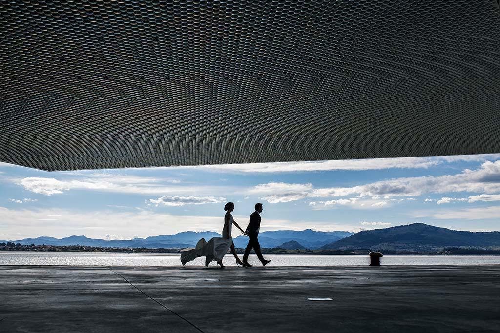 fotografo de bodas Santander Marcos-Greiz Cecilia y Saúl mar
