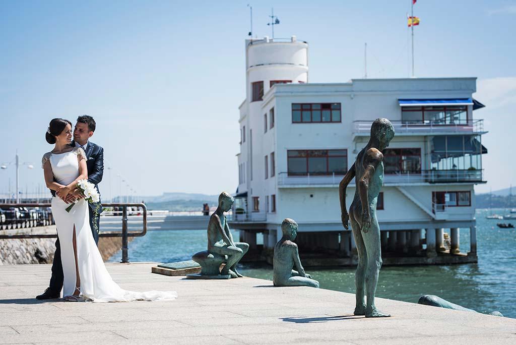 fotografo de bodas Santander Marcos-Greiz Cecilia y Saúl ellos