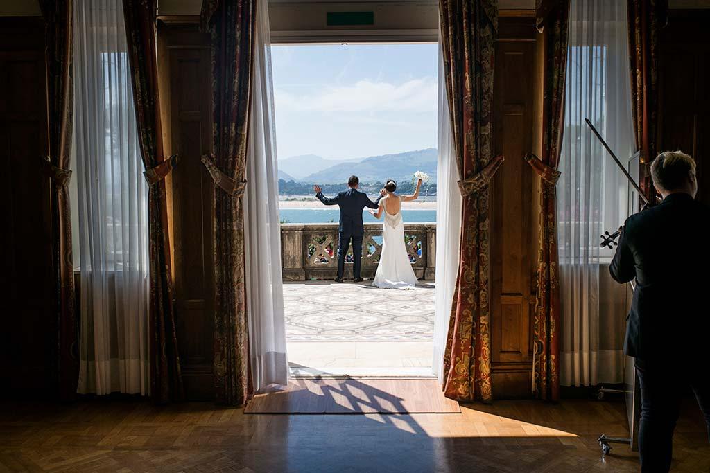 fotografo de bodas Santander Marcos-Greiz Cecilia y Saúl saludo