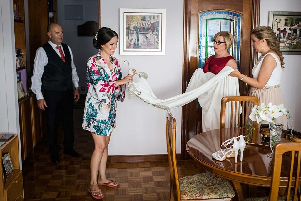 fotografo de bodas Santander Marcos-Greiz Cecilia y Saúl vestido
