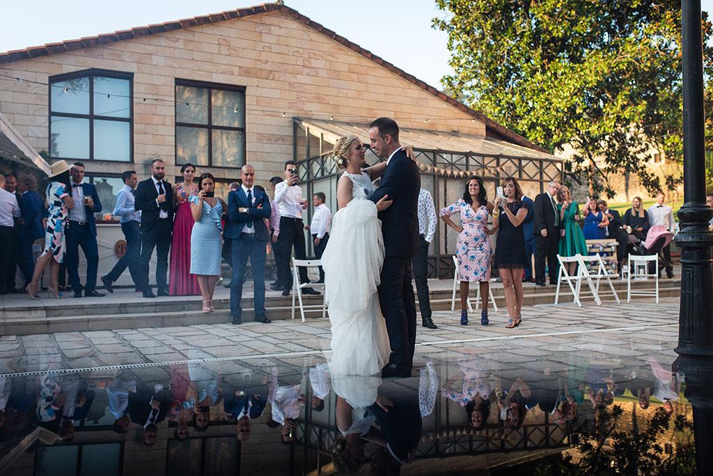 Fotografos de boda Cantabria Maria Aaron Marcos Greiz baile