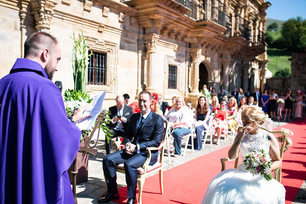 Fotografos de boda Cantabria Maria Aaron Marcos Greiz lloros