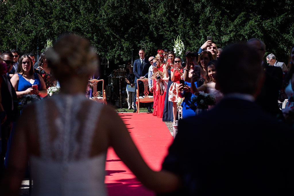 Fotografos de boda Cantabria Maria Aaron Marcos Greiz entrada novia