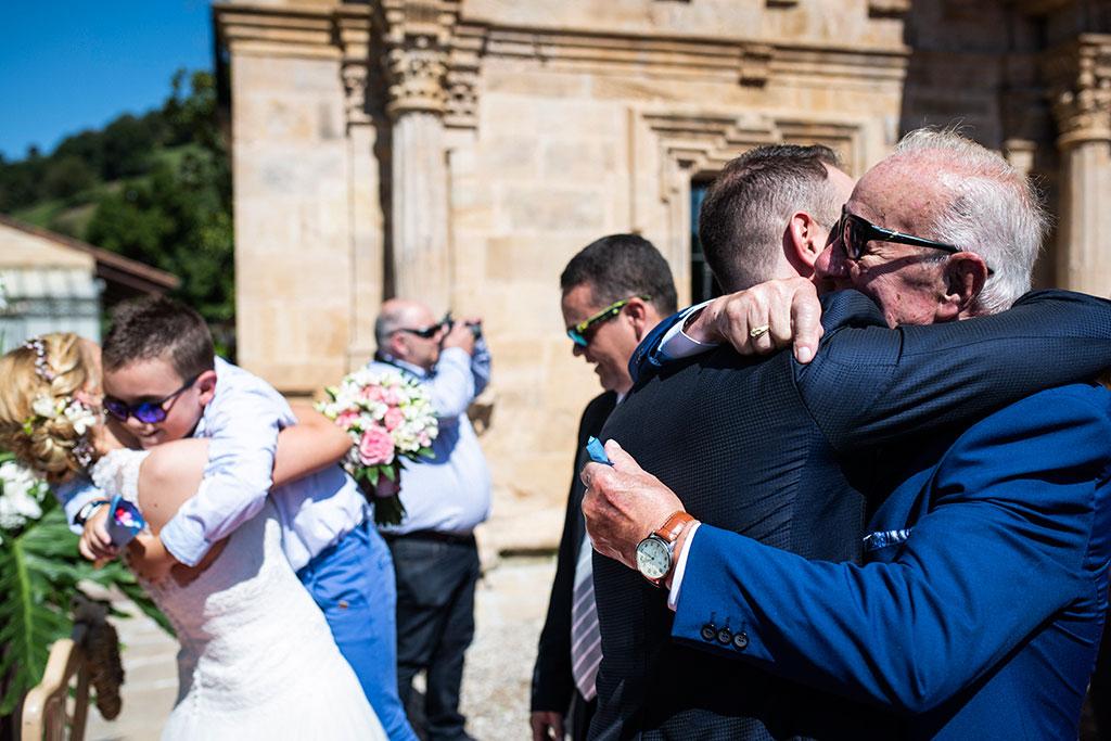 Fotografos de boda Cantabria Maria Aaron Marcos Greiz emociones