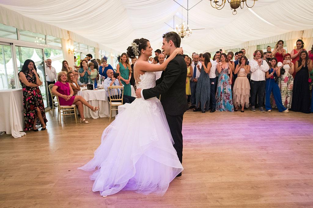 fotógrafo de bodas Santander Marcos Greiz Maria y Javi baile