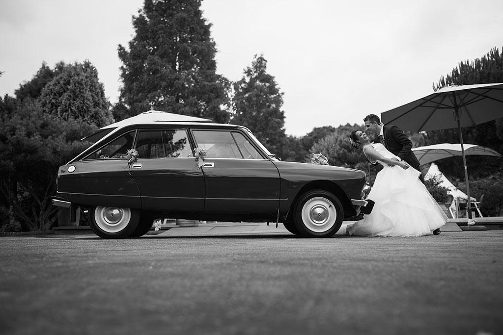 fotógrafo de bodas Santander Marcos Greiz Maria y Javi coche