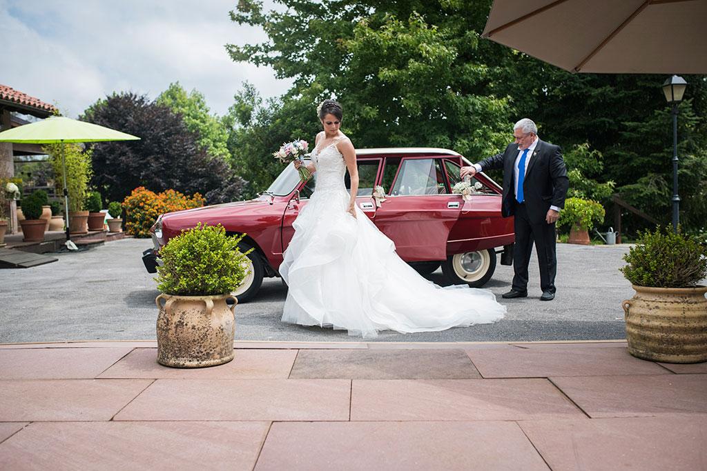 fotógrafo de bodas Santander Marcos Greiz Maria y Javi ella