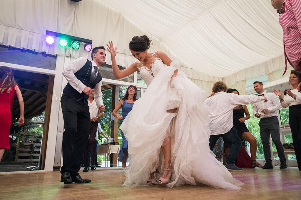 fotógrafo de bodas Santander Marcos Greiz Maria y Javi dandolo
