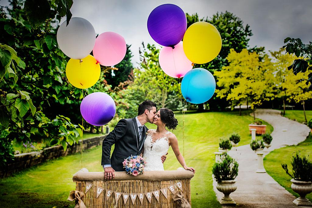fotógrafo de bodas Santander Marcos Greiz Maria y Javi globos