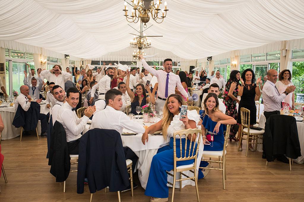 fotógrafo de bodas Santander Marcos Greiz Maria y Javi mesa