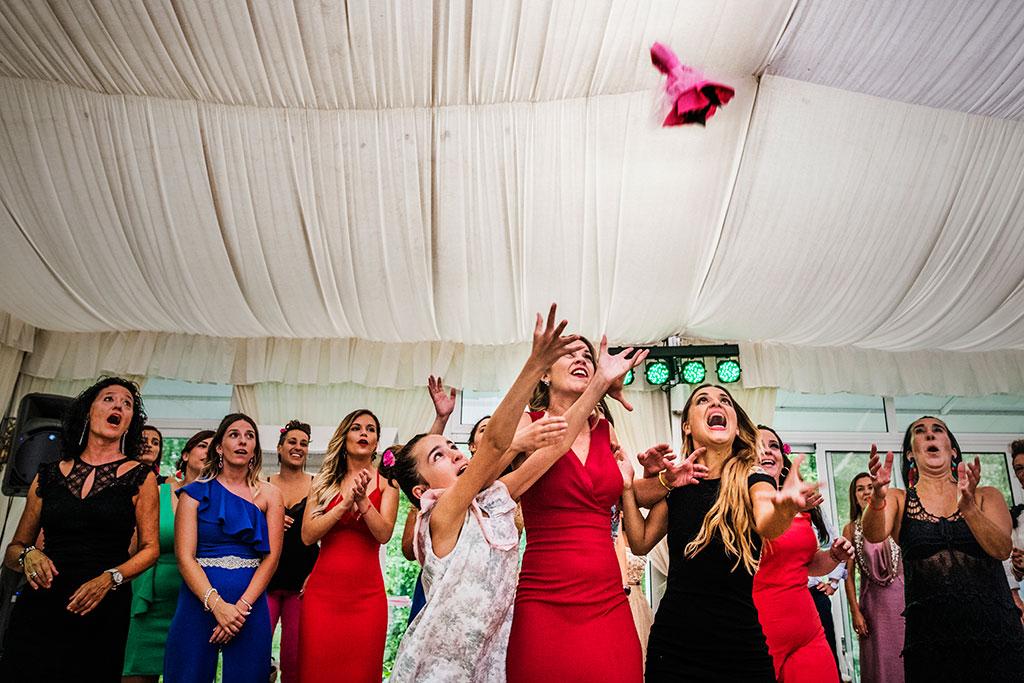 fotógrafo de bodas Santander Marcos Greiz Maria y Javi ramo
