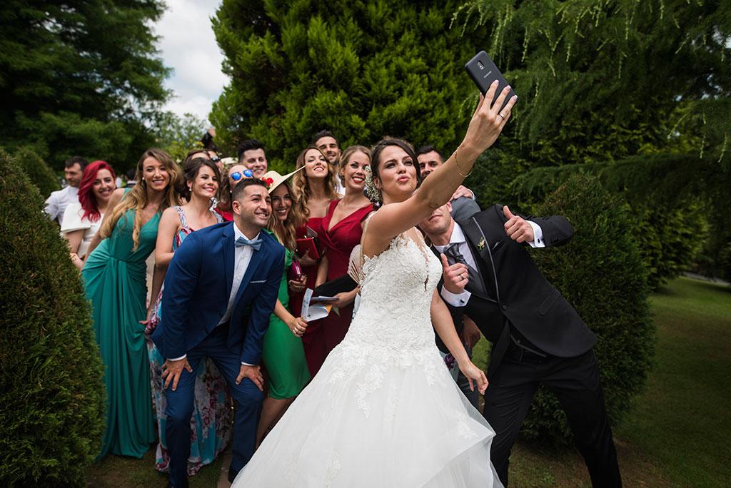 fotógrafo de bodas Santander Marcos Greiz Maria y Javi selfie