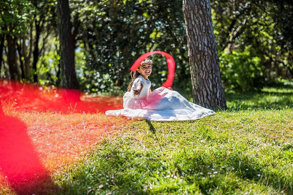 Fotógrafo Santander comunión Celia cinta
