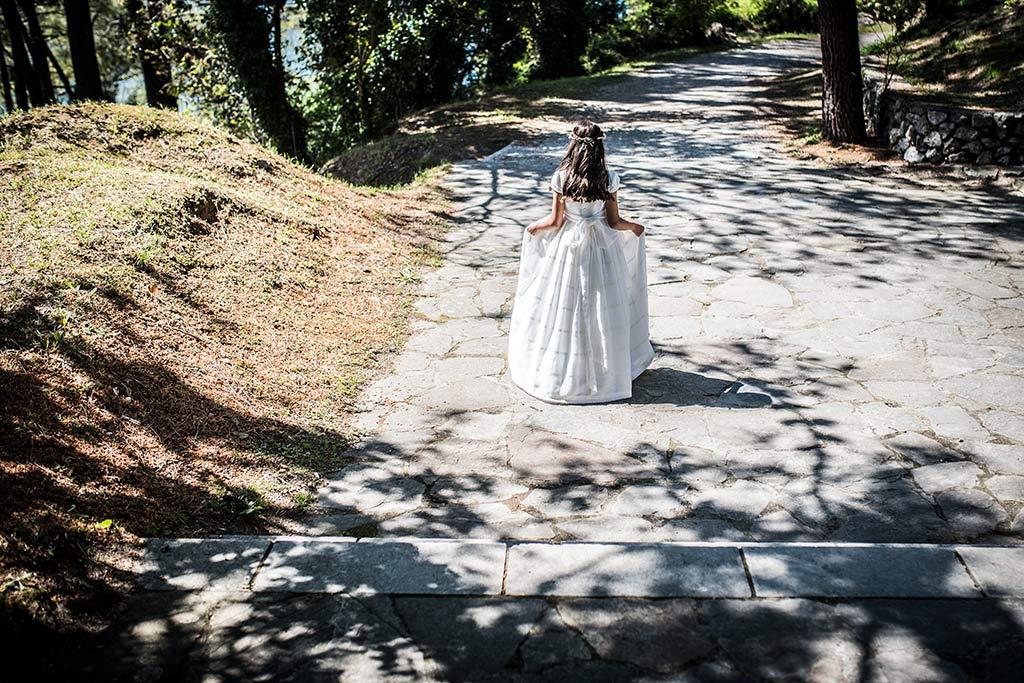 Fotógrafo Santander comunión Celia paseo
